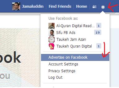 Cara Buat Iklan Facebook Sifubad
