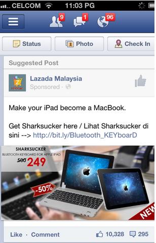 Sponsored Post ads