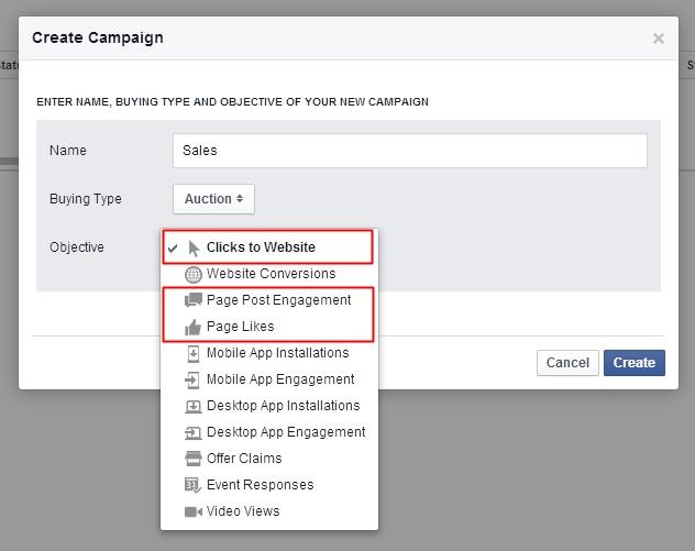 Create Campaign Objective PE