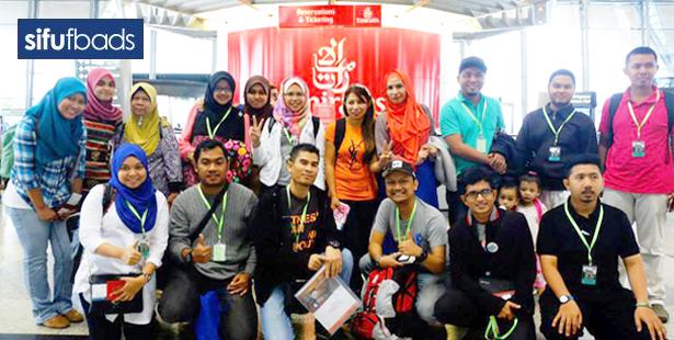 Team Sifufbads ke Vietnam