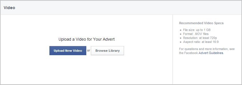 Advert Manager Upload