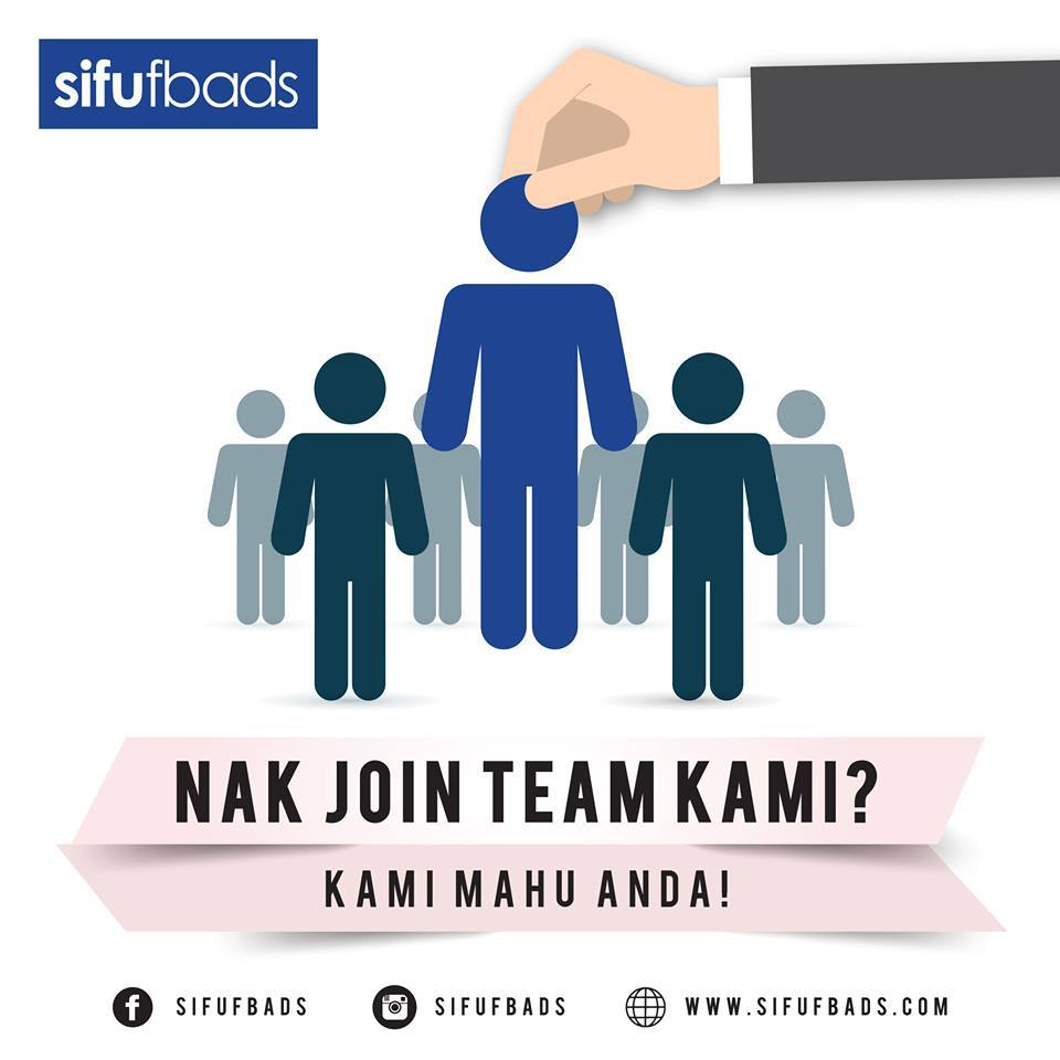 NAK JOIN TEAM SIFUFBADS GROUP