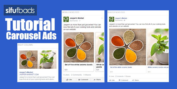 Tutorial Cara Bina 'Facebook Carousel Ads' di Ads Manager
