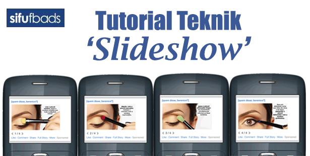 Tutorial Teknik Video 'Slideshow'