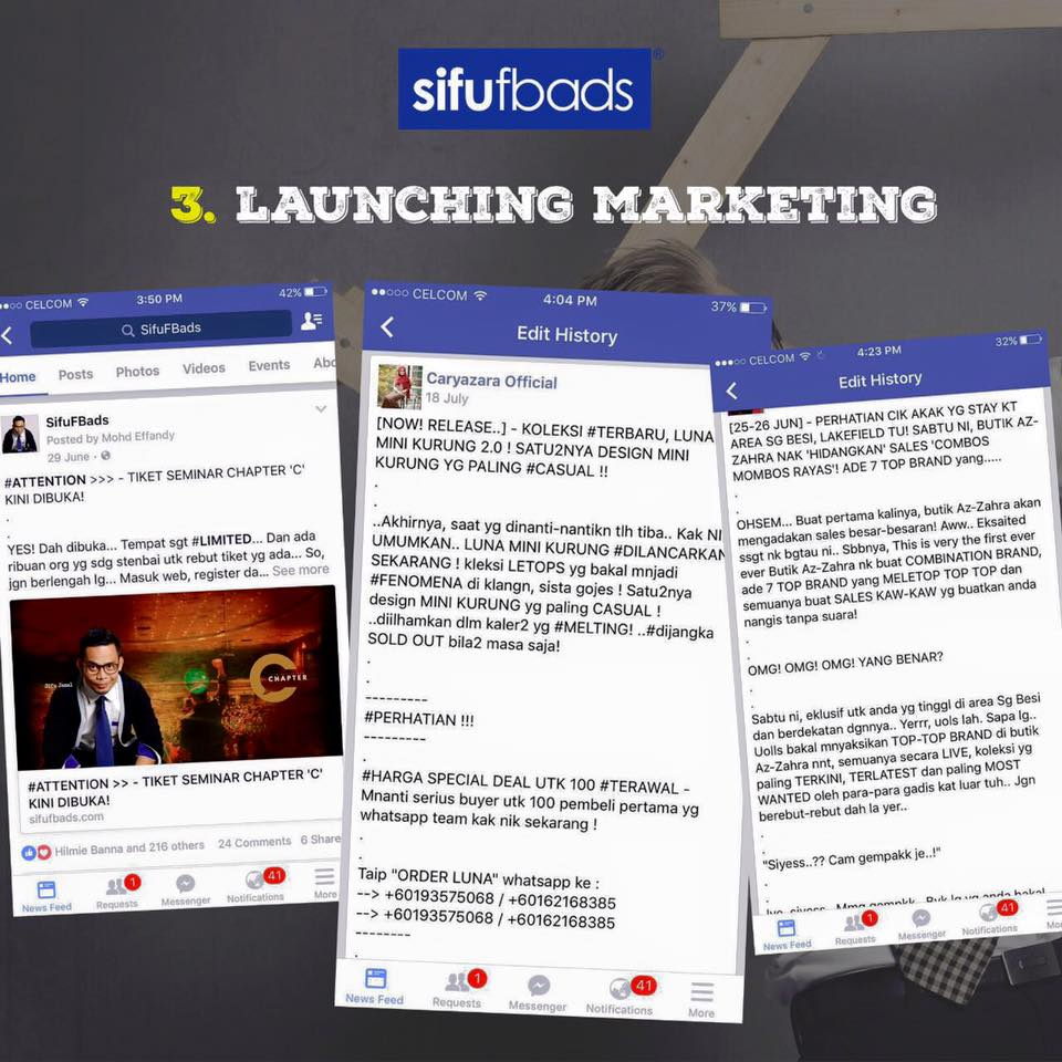 launching marketing
