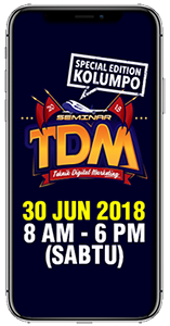 JOM SERTAI SEMINAR TEKNIK DIGITAL MARKETING