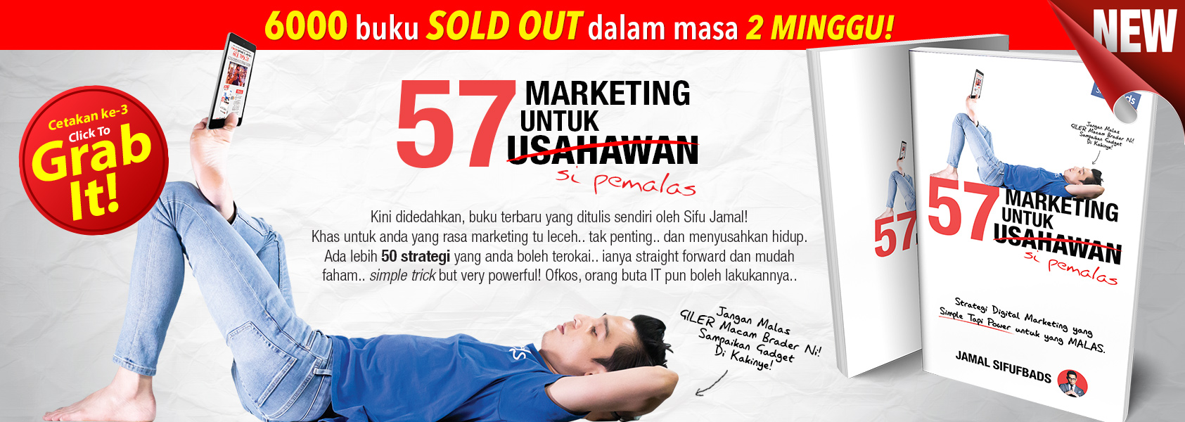 Buku Malas Marketing