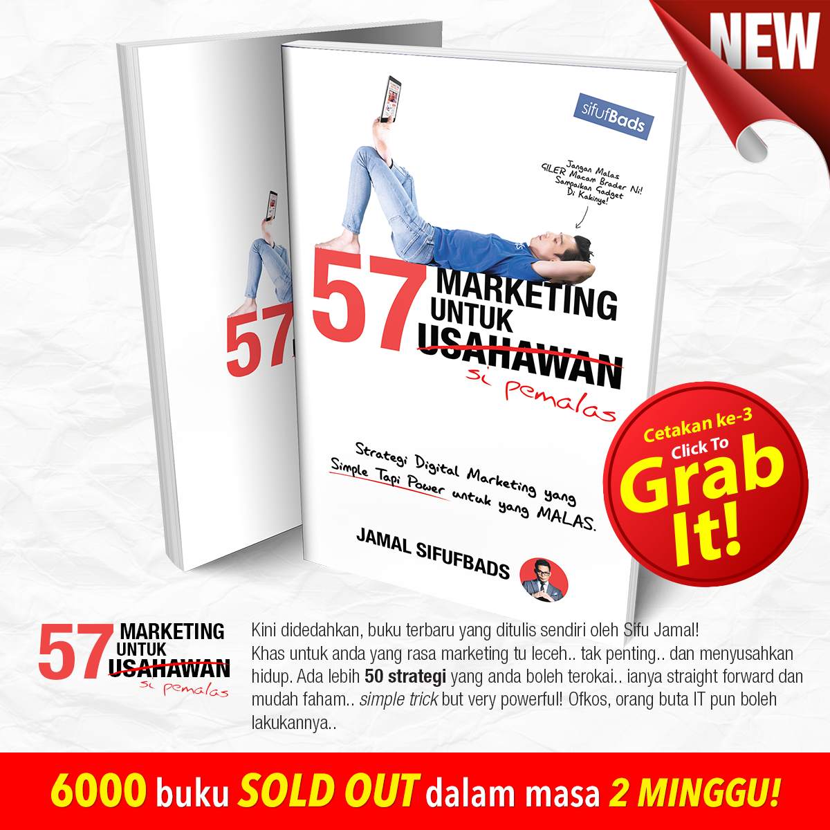 57 BUKU MARKETING SI PEMALAS